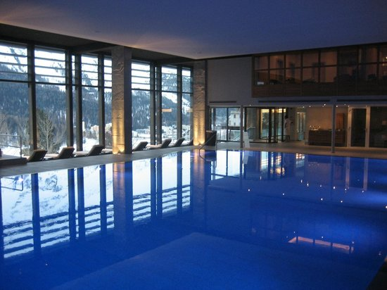 Kulm Hotel St. Moritz: Indoor pool