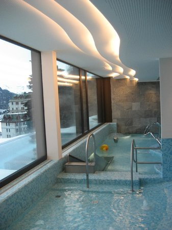 Kulm Hotel St. Moritz: Childrens pool