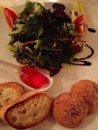auberge villa pachon: foie gras au torchon et gelée de pommettes