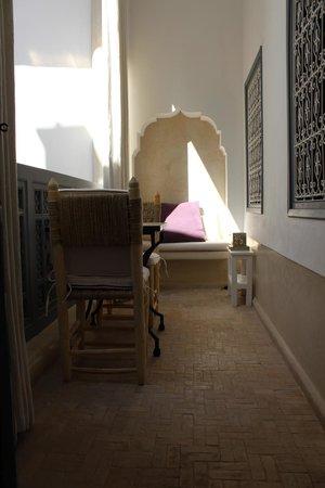 Riad Tawargit: Balcon chambre