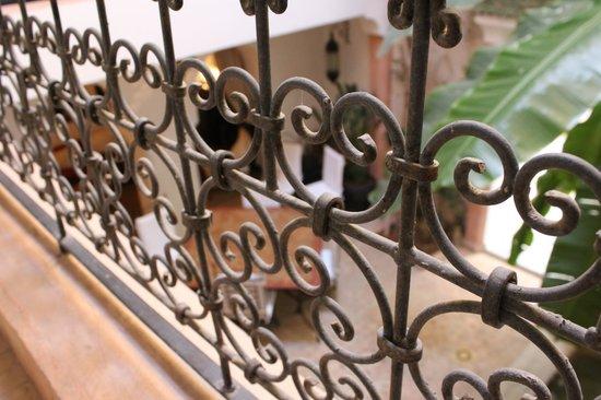 Riad Tawargit: Vue sur la salle à manger du premier étage