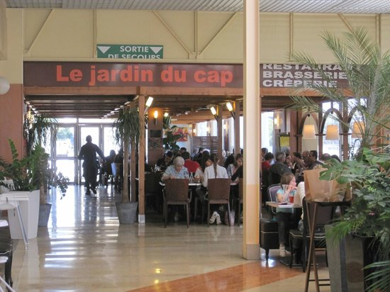 Jardin du cap ingresso secondario picture of jardin du for Restaurant le jardin du cap