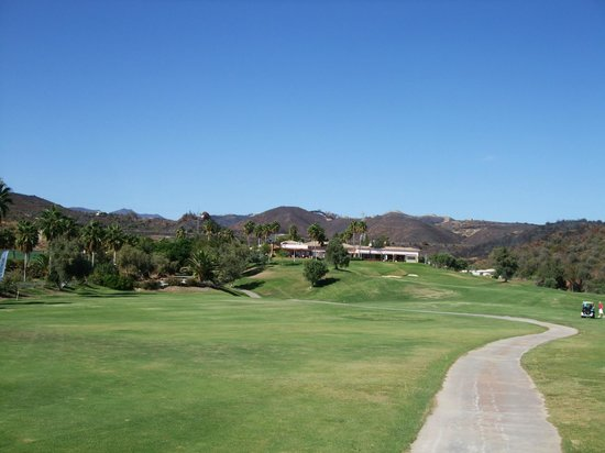Marbella Golf Country Club: view from 17th