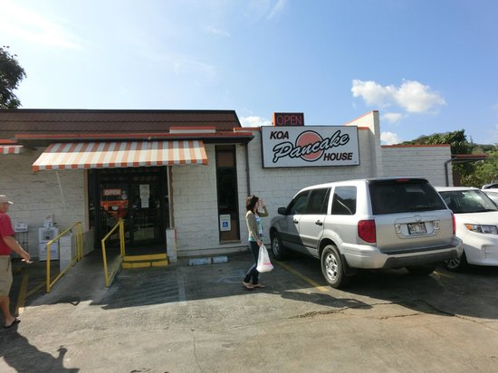 Kaneohe Pancake House : great restaurant in a small town