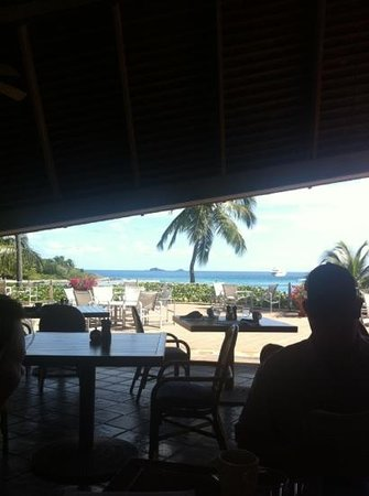 The Pavillion at Little Dix Bay: the views