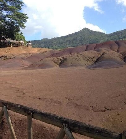 Casuarina Resort & Spa: terra sette colori - chamarel