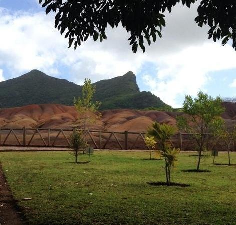 Casuarina Resort & Spa: terra 7 colori - Chamarel