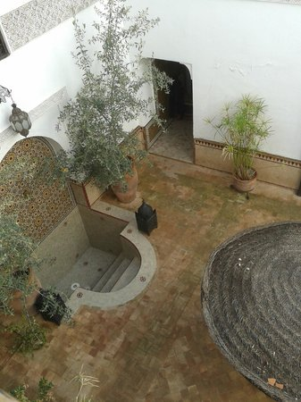 Riad Dar Nadwa : Badje op patio