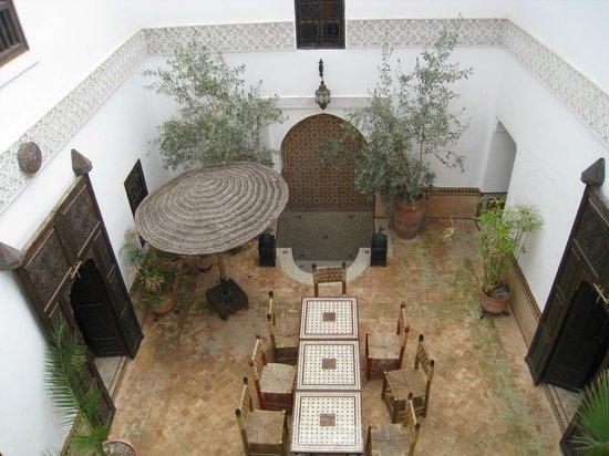 Riad Dar Nadwa : Binnen Patio