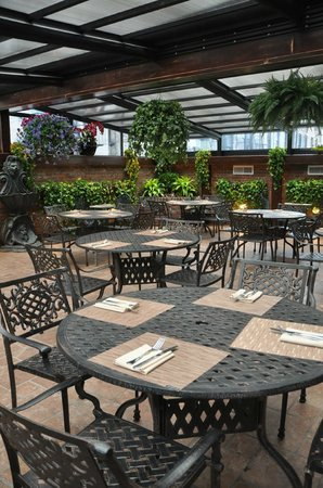 Our outdoor Patio - Picture of Bourbon Street Bar & Grille, New ...