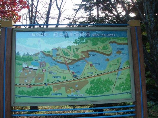 Takinoue Park: 案内図