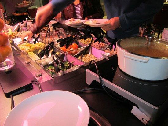 Campanile Marne la Vallée : evening meal