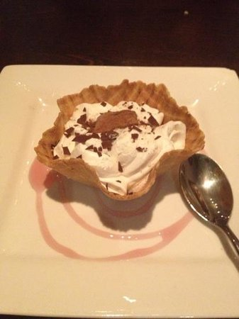 Padma Lounge Bar & Restaurant: nice desserts