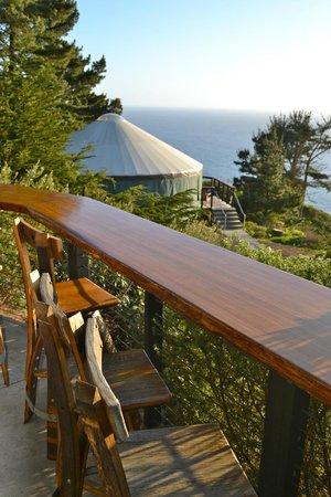 Treebones Resort : Our Breakfast Spot