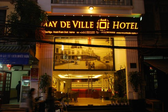 May de Ville Old Quarter Hotel: Front of May De Ville Hotel