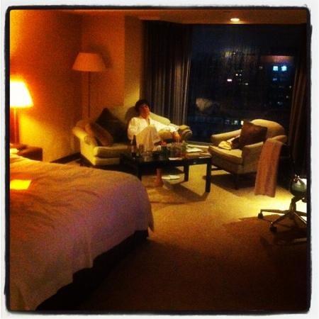 Sheraton Grande Taipei Hotel: 部屋でのんびり〜