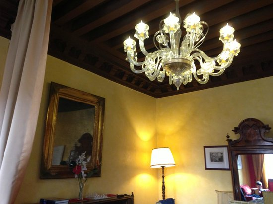 Residence Palazzo Odoni : Living area