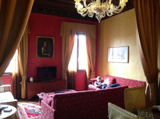 Residence Palazzo Odoni: Living area
