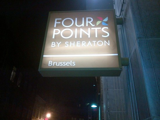 ‪‪Four Points by Sheraton Brussels‬: Logo Hotel‬
