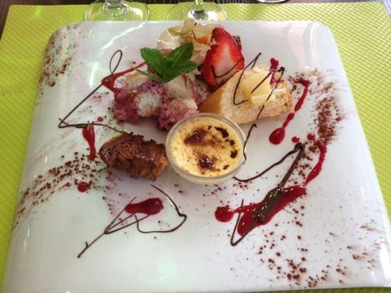 panaché de desserts