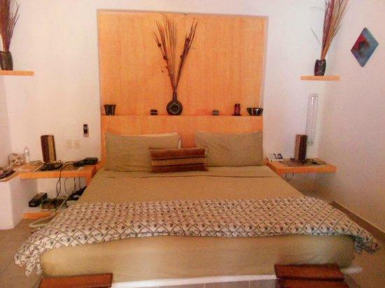 Casita de Maya: The back bedroom.