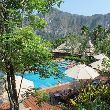 Ao Nang Phu Pi Maan Resort & Spa: Nice view from our villa