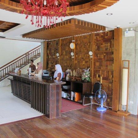 Ao Nang Phu Pi Maan Resort & Spa: Reception