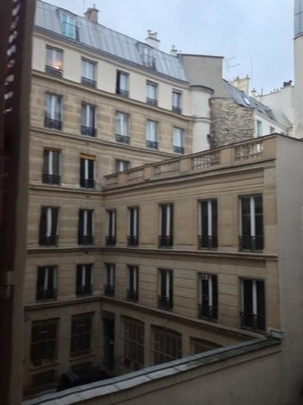 A Room in Paris: View from Red Room across courtyard