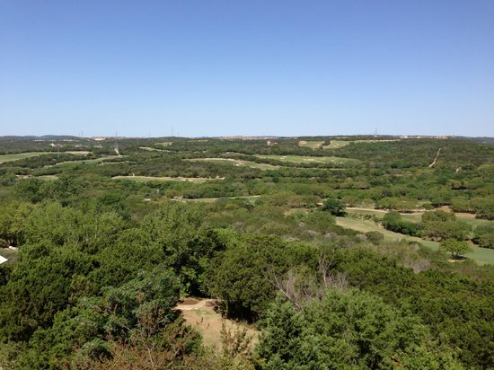 La Cantera Hill Country Resort: From back balcony of the room
