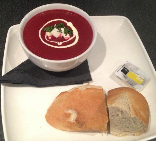 Plane Cuisine: Home-made Soup