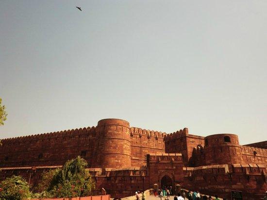 Fort rouge d'Āgrā : アグラ城塞入口