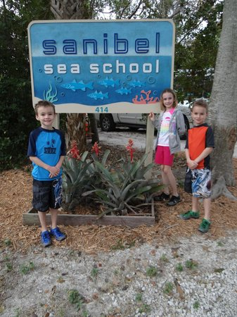 Sanibel Sea School Day Program: 1st day of sea school this year