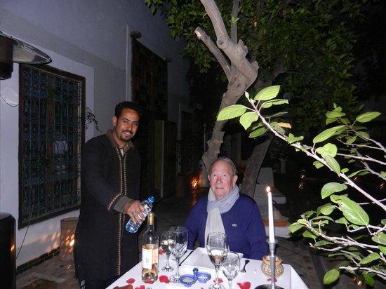 Le Rihani : diner dans le patio