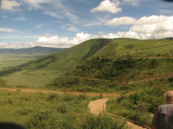 Ngorongoro Sopa Lodge: View of the Crater from Room