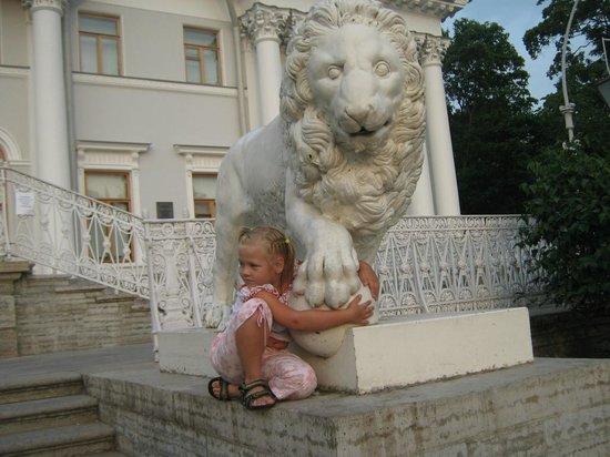 Yelagin Palace: Дворцовые львы