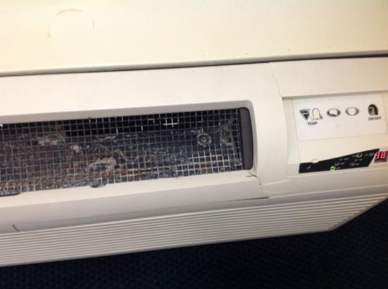 Red Roof Inn Columbus/Grove City: heater