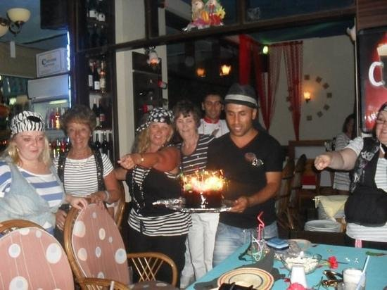 Hasir restaurant: birthday party