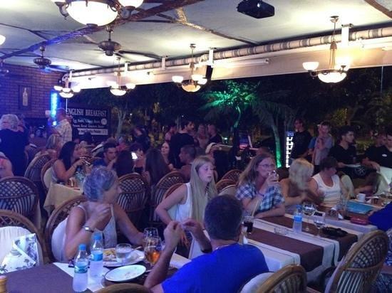 Hasir restaurant: football