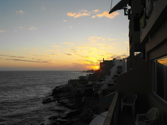 Surf Stay: Sunset from apartment Surf n Stay Taghazout