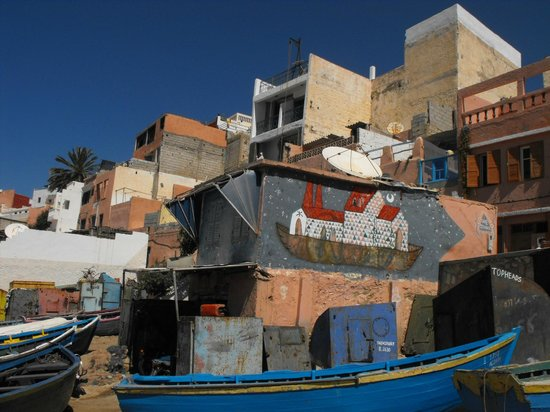 Surf Stay: Village centre apartment Surf n Stay Taghazout