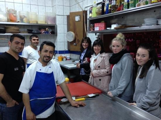 Hasir restaurant: we teach u how to make Turkish bread :)