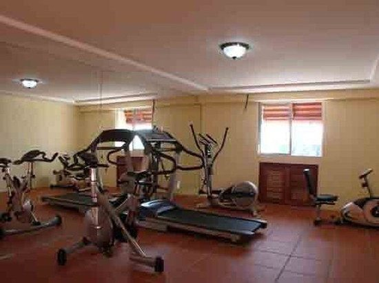 City River Hotel: Gym