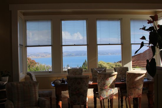 McHardy Lodge: View from the Dining Room window