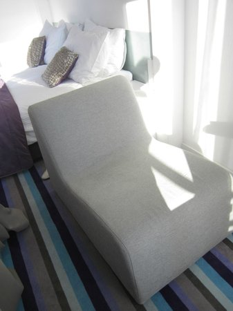 Hotel Luxe: Chaise-lounge