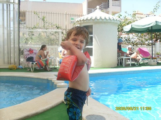 Hotel Guardamar: lovely pool great for kids