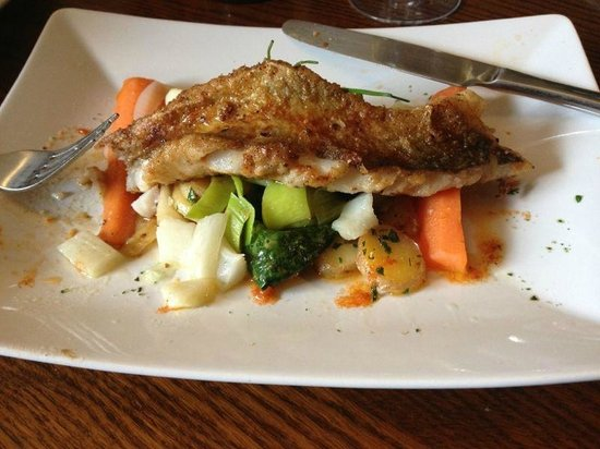 The Anchor Inn: Anchor Inn - Whiting with paprika