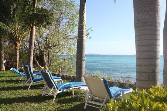 Hotel La Joya: View out to ocean