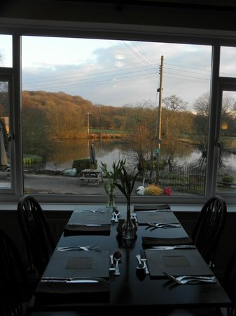 Three Wells Hotel: View from dining room