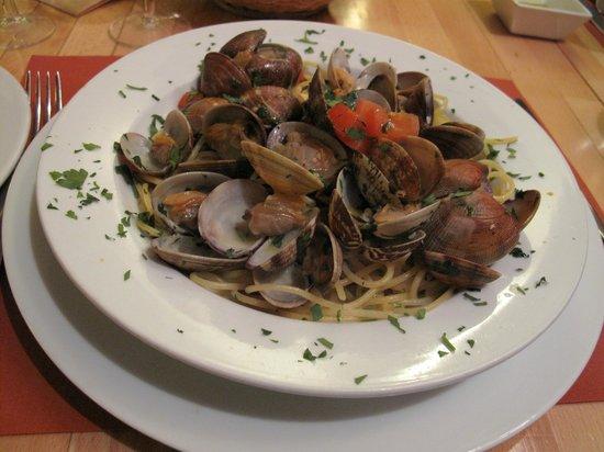 Il Pasticcio : Clam spaghetti