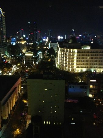 Nhat Ha3: View from the rooftop bar